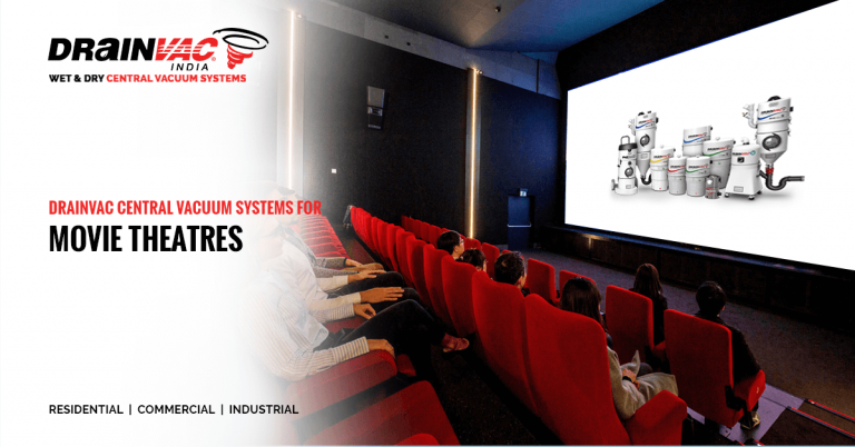 central vaccume systems for movie theaters
