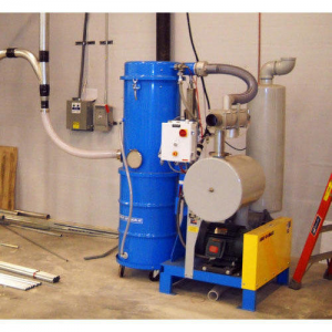 Central Vacuum system storage
