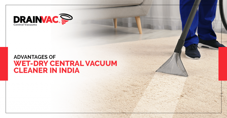 wet-dry central vacuum cleaner in India