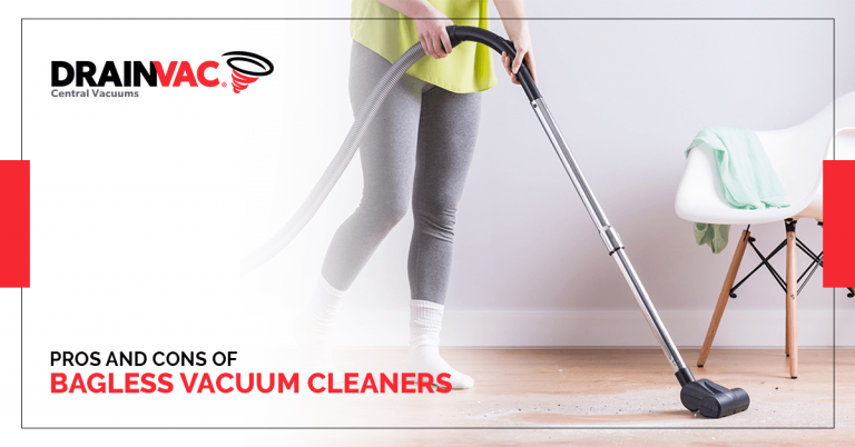 bagless vacuum cleaners by Drainvac India