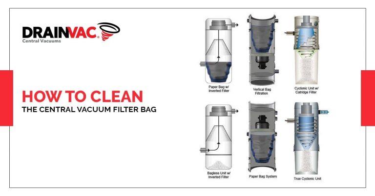 central vacuum filter bag